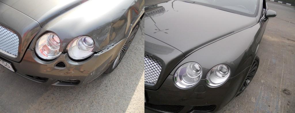 Кузовной ремонт Bentley